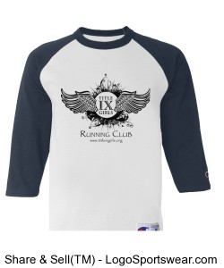 Champion Youth Raglan Baseball T-Shirt Design Zoom